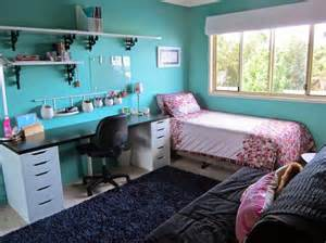 Blue Teenage Bedroom Ideas delightful light blue teenage girls bedroom interior design ideas with