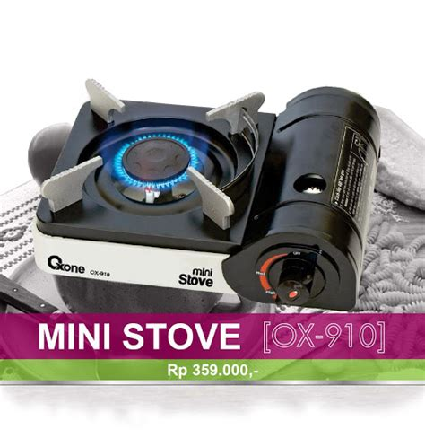 Oxone Mini Stove perabotan rumah tangga gas stove