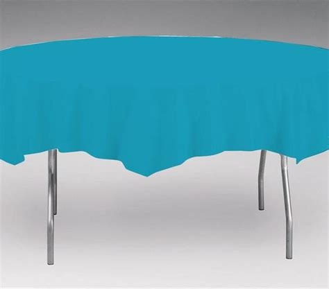 turquoise table cover turquoise 82 quot table cover doolins