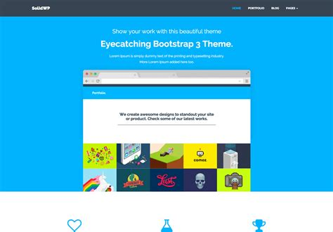bootstrap wordpress themes bootstrapwp