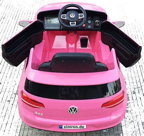 Vw Auto F R Kinder by Vw Golf Gti Kinderauto Kinderfahrzeug Kinder Elektroauto 2