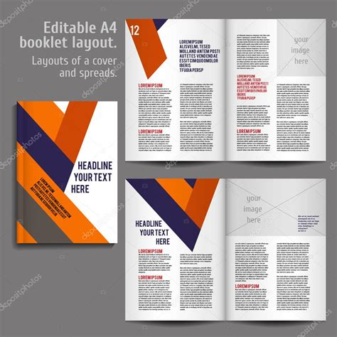 best book layout design software a4 book layout design template stock vector 169 mashabr