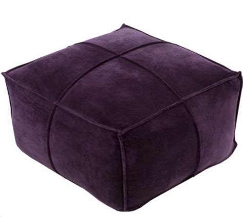 purple ottomans 8 purple ottomans for your living room cute furniture