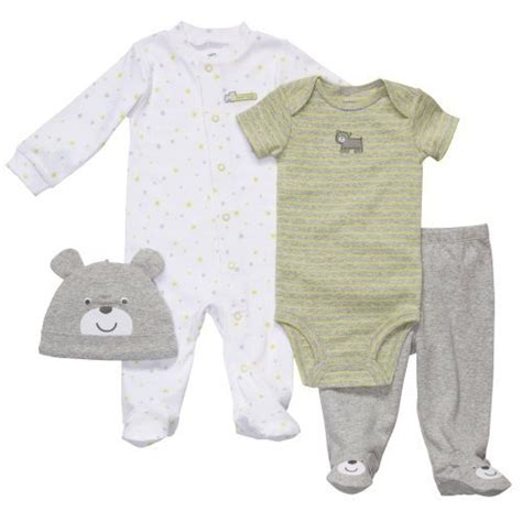Pjhb85864 Pajamas Hug A Baby s preemie boys 4pc set hugs clothing clothes preemies