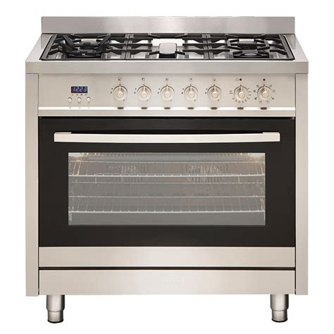 gas cooktop with electric oven euromaid ge9ss 90cm stove cooker electric oven gas