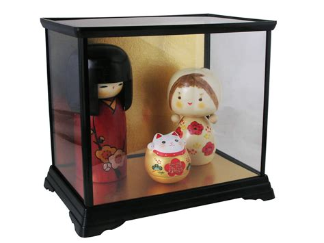 Glass Canisters Kitchen by Small Rectangular Collectors Doll Display Case