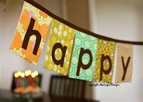 Happy Birthday Banner Handmade - handmade banners try handmade