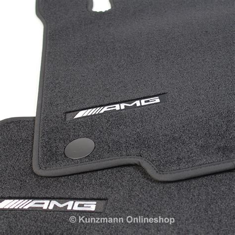 amg floor mats black gle coup 233 c292 genuine mercedes