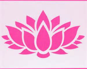 Lotus Stencil Related Keywords Suggestions For Lotus Stencil