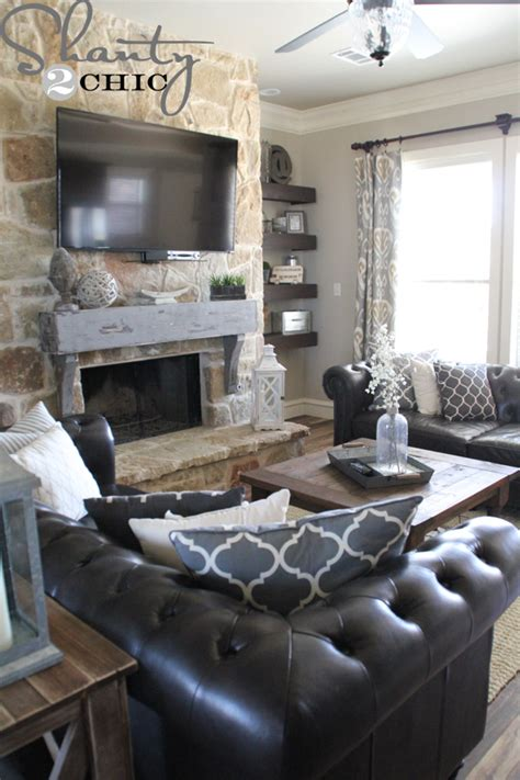 crafts fireplace mantels rustic