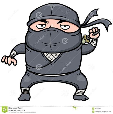 film ninja cartoon tecknad film ninja vektor illustrationer bild 39175943