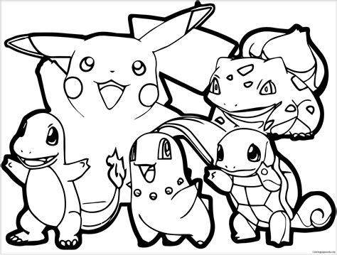 pokemon coloring pages bunnelby adult pokemon coloring page free coloring pages online