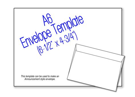 items similar to a6 envelope 6 1 2 quot x 4 3 4
