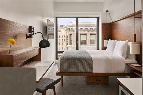 micro hotel rooms arlo hudson square is a high design micro hotel in new york city architectural digest