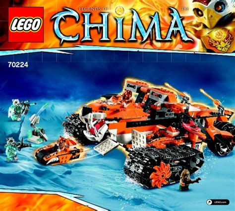 Manifol Tiger By Warung Cuatom legends of chima lego tiger s mobile command