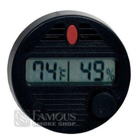 Thermometer Digital Corona hygroset ii digital hygrometer smoke
