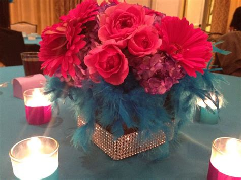 sweet 16 centerpieces event planning sweet