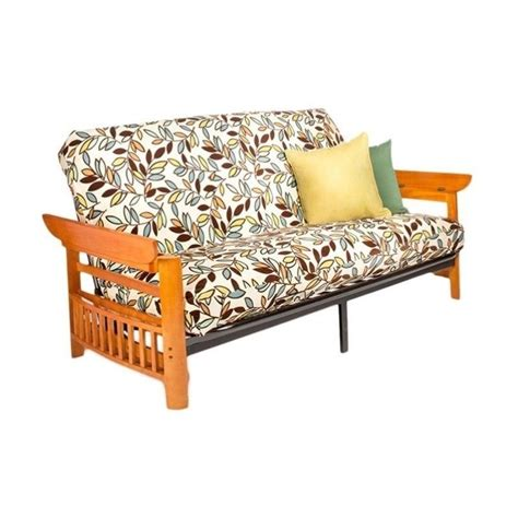Futon Stores Portland Or by And Day Portland Wood And Metal Futon In Honey