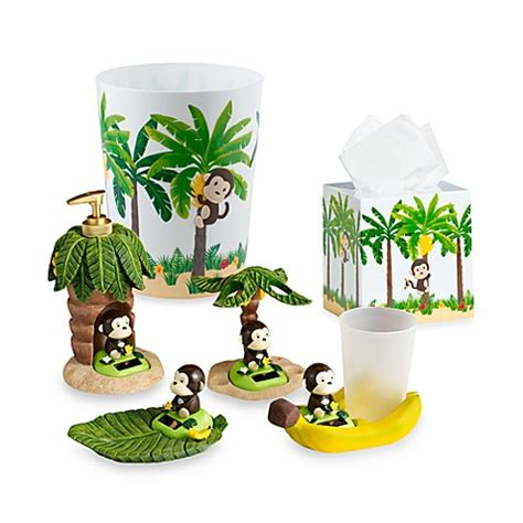 Monkey Bathroom Accessories Motion Monkey Toothbrush Holder Bed Bath Beyond