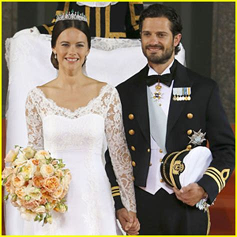 prince carl philip & sofia hellqvist marry in sweden – see