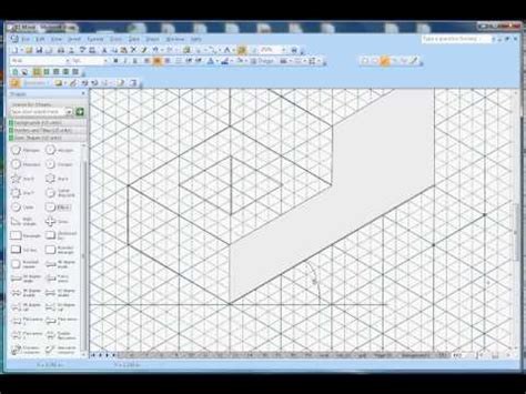 visio isometric how to draw isometric shapes in microsoft visio