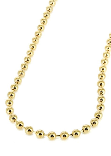 tag chain mens tag chain 10k yellow gold frostnyc