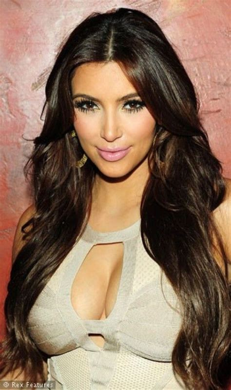 kim kardashian hair color brown chocolate brown hair color best celebrities hair
