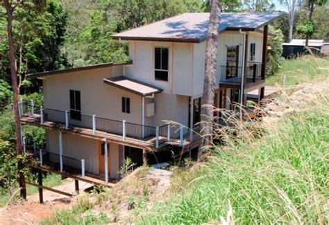 Small Split Level House Plans difficult site builder sunshine coast