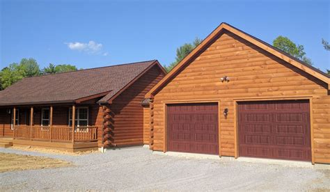 log cabin garages custom garage builders prefab garages for sale zook cabins