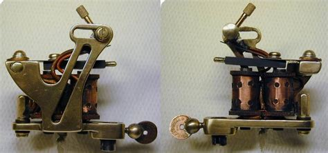 bernahrds rogers coleman tattoo machine iron tattoomachine