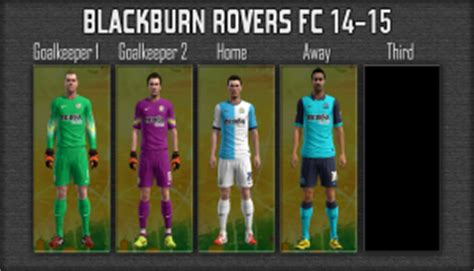 pes 2013 blackburn rovers 14 15 gdb by mikue das pes patch