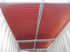 Plastik Fiber Kanopi Kanopi Atap Go Green Bengkel Las Depok