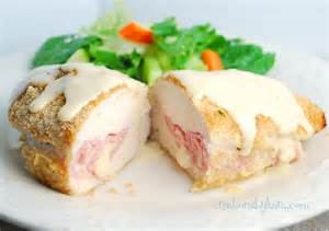 chicken cordon bleu recipe dishmaps