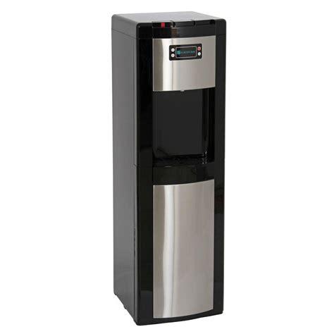 glacier bay bottom load water dispenser in stainless steel