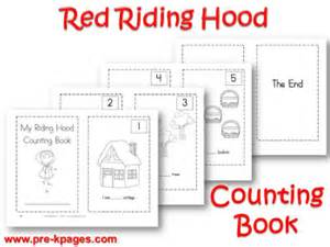 pre k theme little red riding hood pre kpages com