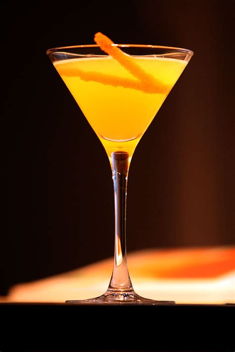 martini orange orange blossom science of drink