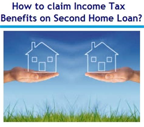 housing loan income tax how to claim income tax benefits on second home loan myinvestmentideas com