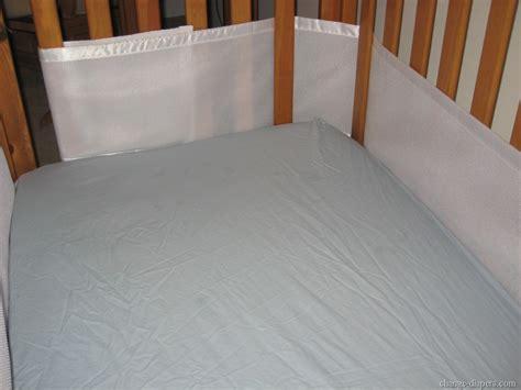 Mesh Crib Bumper Installation by Breathablebaby Breathable Mesh Crib Liner Bumper