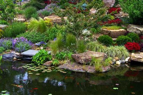 Water Rock Garden Rock Garden Near Water Perennials And Rock Gardens Pinterest