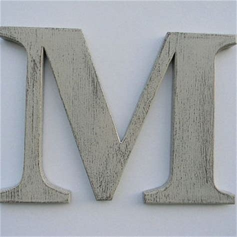 Rustic Wooden Wall Letters