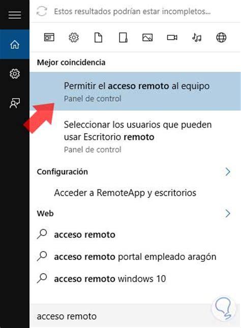 habilitar escritorio remoto windows 8 c 243 mo habilitar escritorio remoto en windows 10 8 7