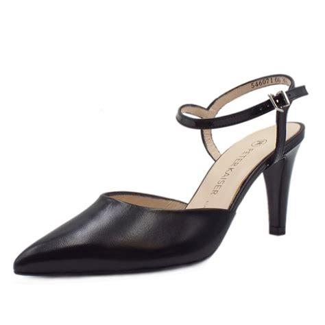 sandals with toe kaiser uk eyrin black evening sandals