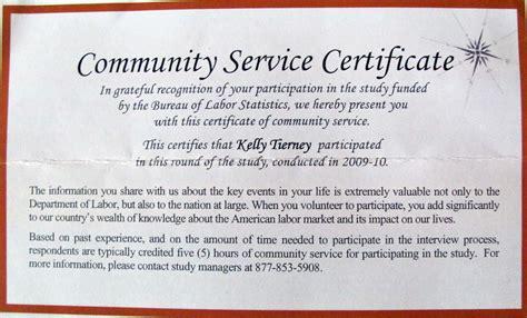 service certificate template sle service award letter wording community service