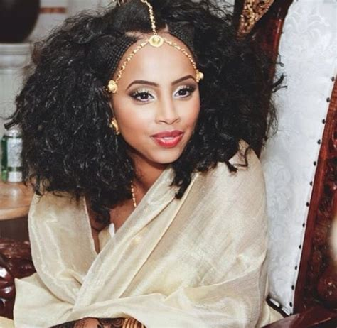 wedding hair braid ethiopyan still beautiful habesha bride at her melse love the hair