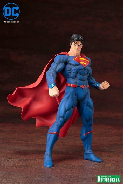 Mainan Figurin Superman Batman Worlds Finest Figure Isi 2 81507 dc comics superman rebirth artfx statue by kotobukiya actionfiguresdaily