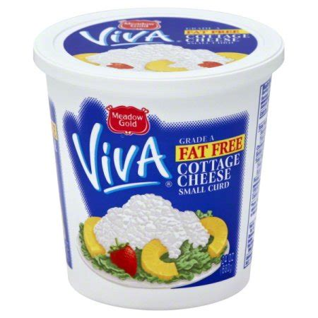 Meadow Gold Curd Cottage Cheese by Meadow Gold Viva Free Small Curd Cottage Cheese 24 Oz