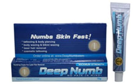 tattoo numbing cream instructions deep numb numbingcream review