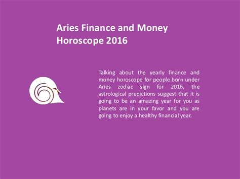 aries yearly horoscope 2016