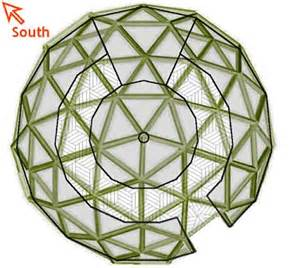 Tall Bed Frame Full Geodesic Dome Greenhouse Layout Plan