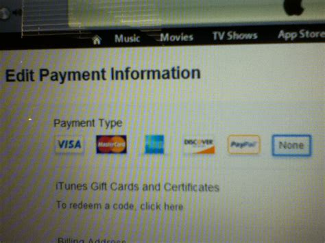 Itunes Use Gift Card Instead Of Credit Card - itouch tech talk part 3